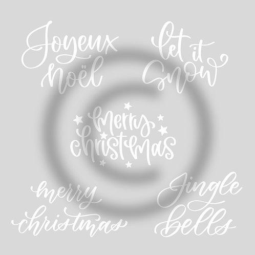 "Schriftzug ""Christmas-Bundle"""