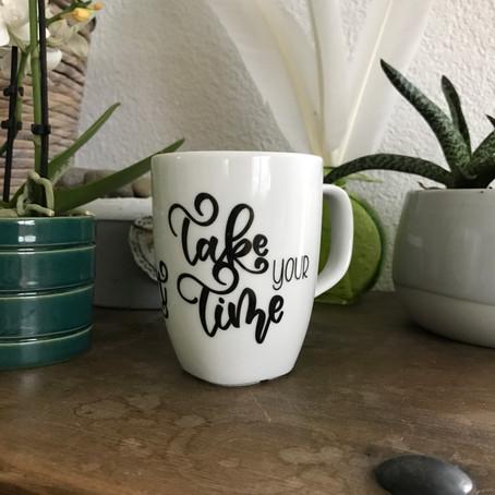 Idee: Teetassen/Kaffeetassen beschriften