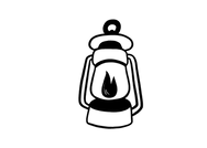 Drawing of a lantern