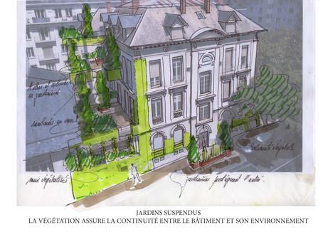 Villa Macornet - Chambéry - Des jardins suspendus