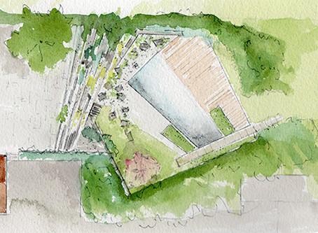 Intégrer la piscine dans le jardin - Haute Savoie