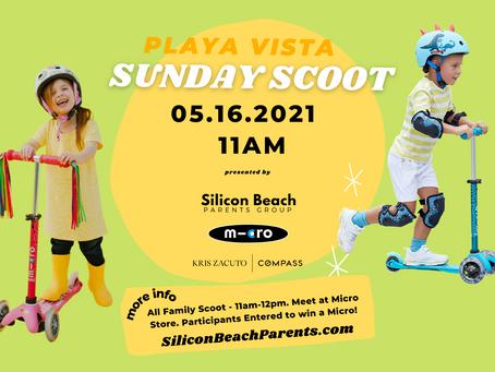UPCOMING: May 16, 2021 | Playa Vista Sunday Scoot