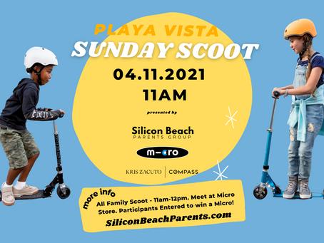 UPCOMING: April 11, 2021 | Playa Vista Sunday Scoot