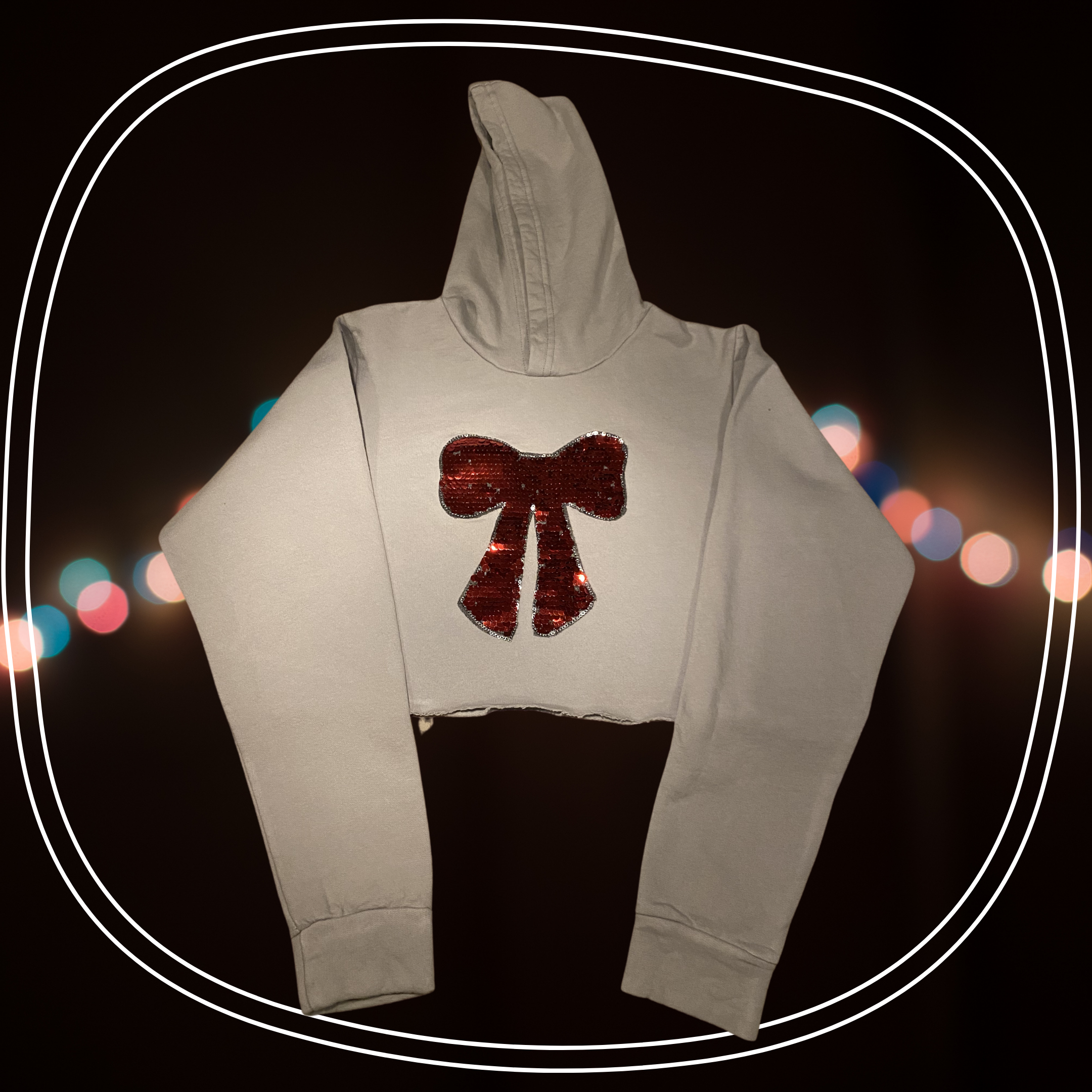 Holiday Bow Hoodie