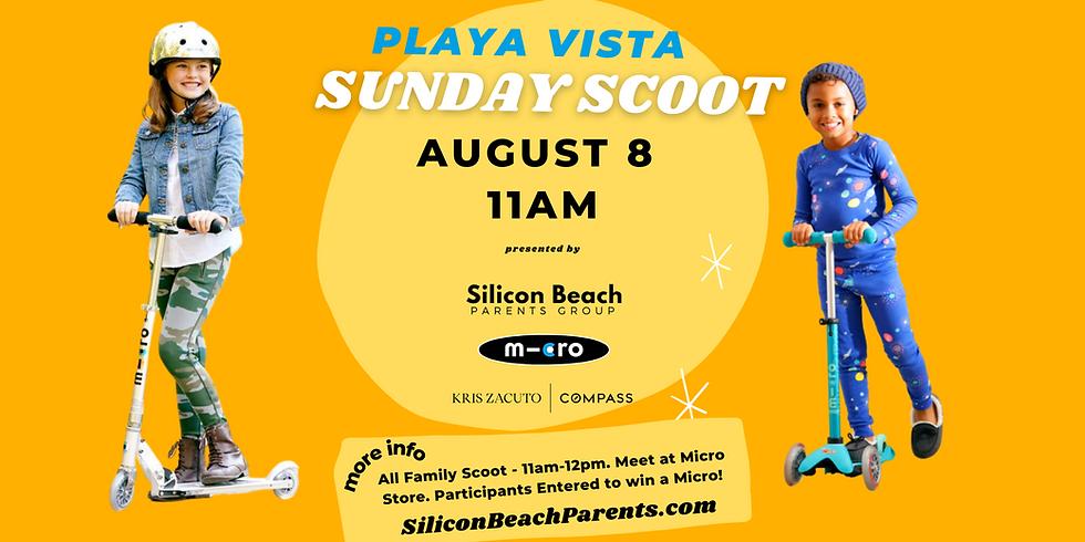 Playa Vista Sunday Scoot