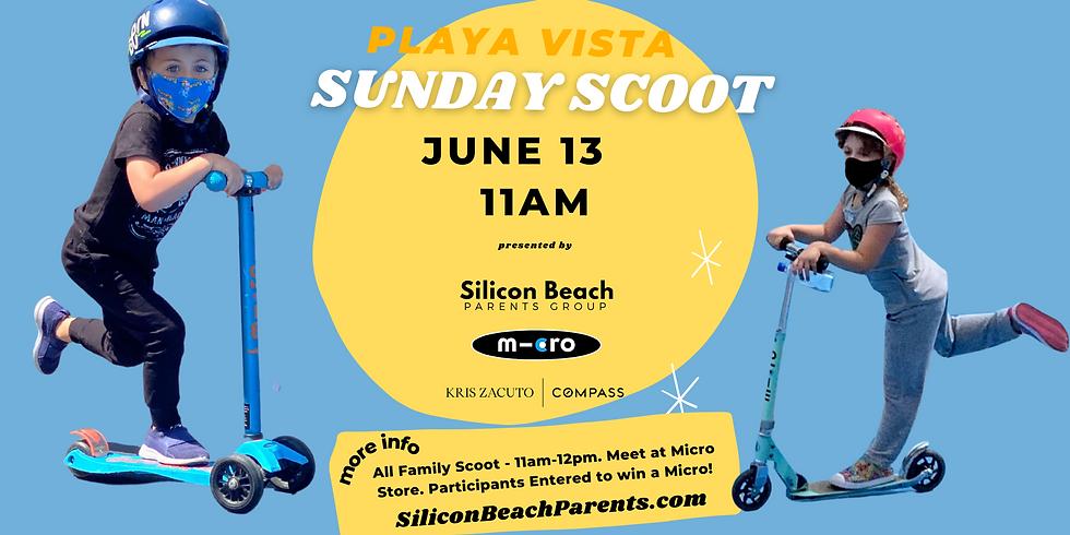Playa Vista Sunday Scoot | June 13, 2021