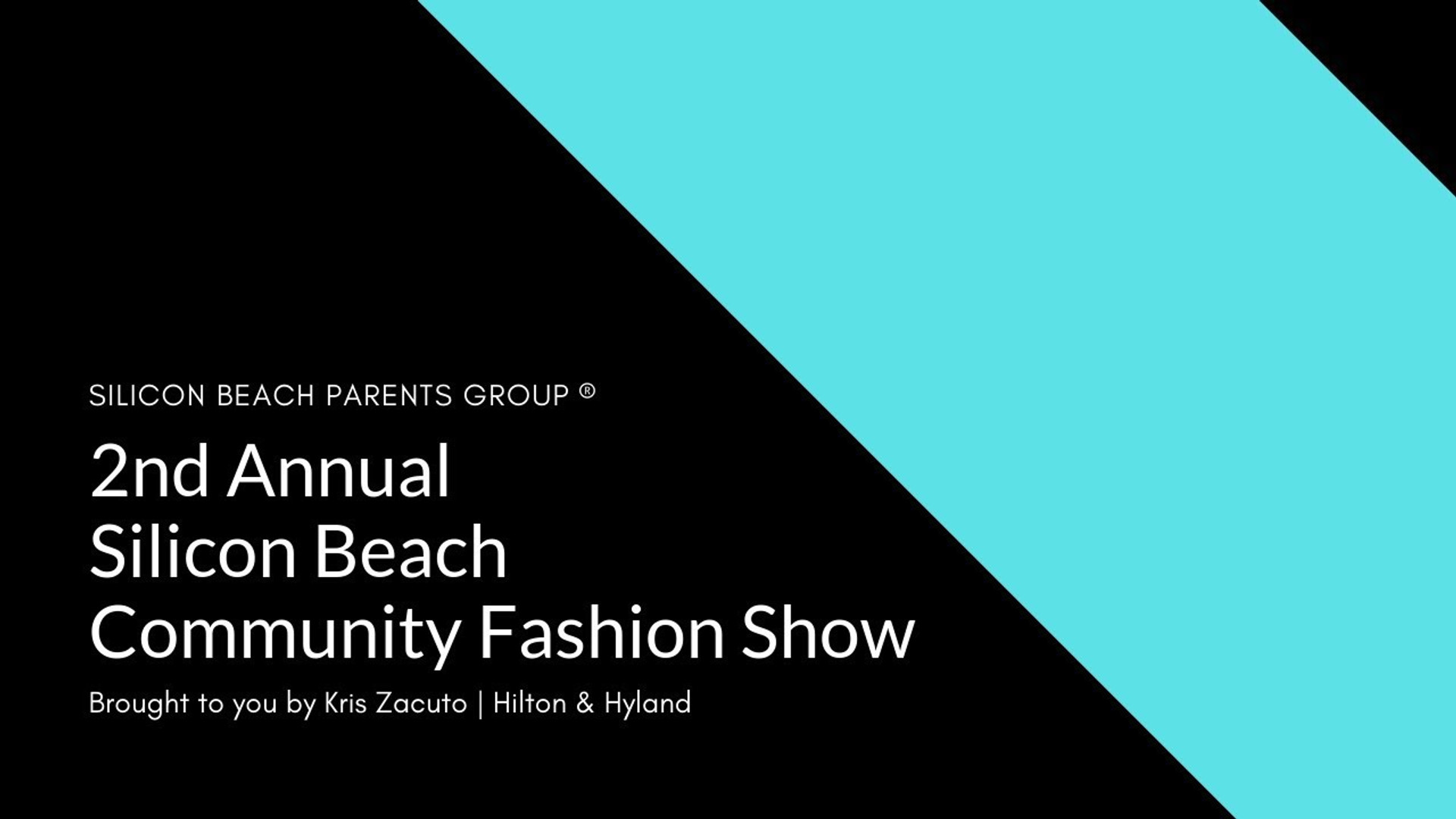 Silicon Beach Fashion Show