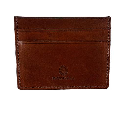 Kreditkartenetui für Herren in braun