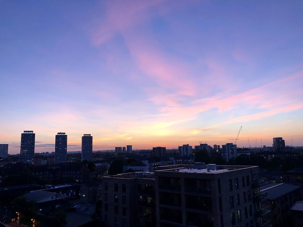 East London rooftop