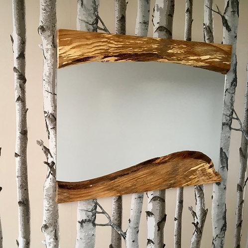 Large Live-edge Mirror