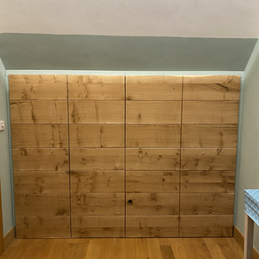 The best under-eaves bedroom storage?