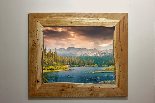 Live-edge Picture Frame