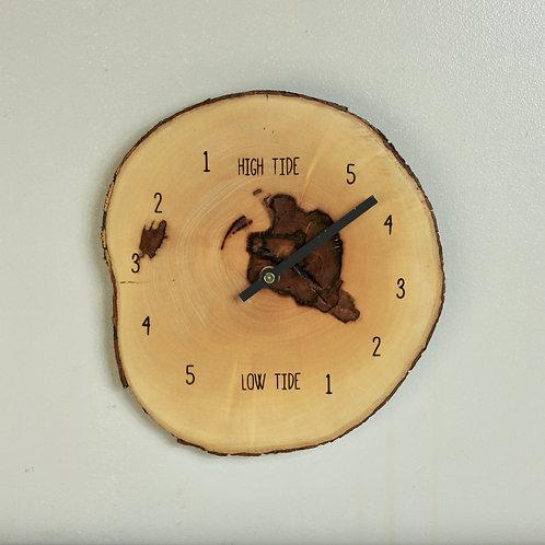 Live Edge Tide Clock