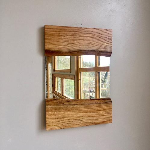 Small Live-edge Mirror