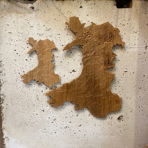 Large Wales Oak Map