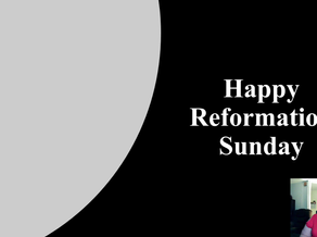 Reformation Sunday Children's Moment
