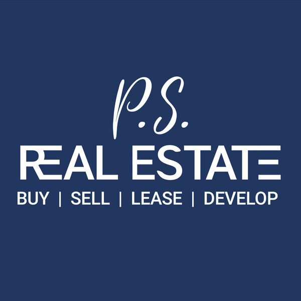 PS Real Estate Logo White Text Upright.j