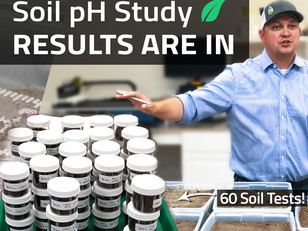 SoiLab pH Trial One Month Update