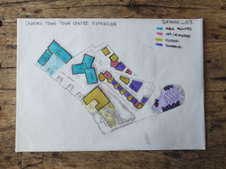 Raving In The Town Centre Plan Sketch