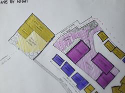 Trade By Day Plan Sketch - Venue Area