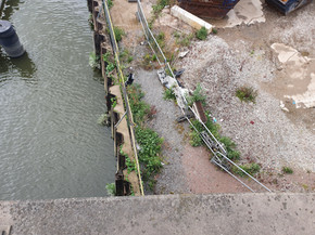 Details of connection with the River Lea