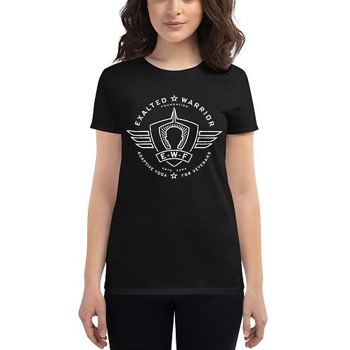 Women's short sleeve t-shirt Dark Theme