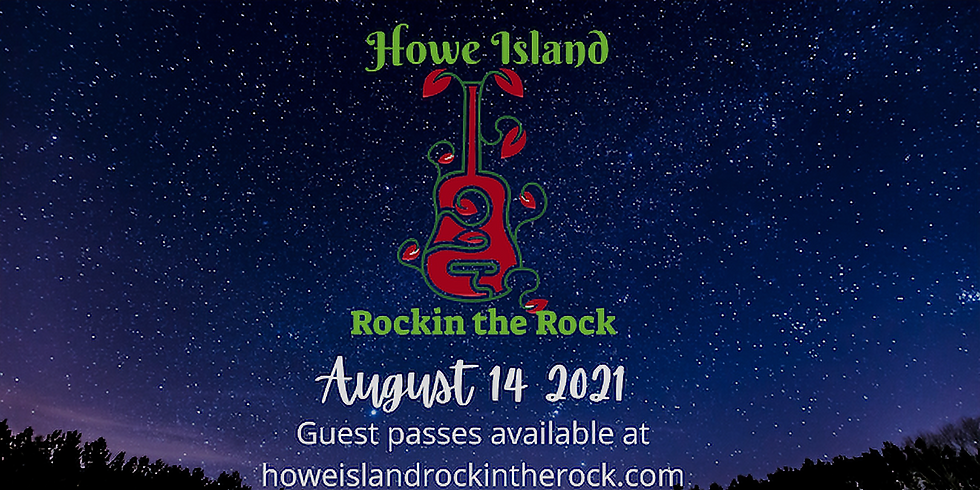 HOWE ISLAND ROCKIN THE ROCK 2021