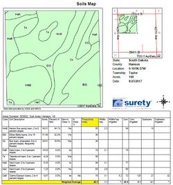 Hanson Co 240 Tract 2 soils