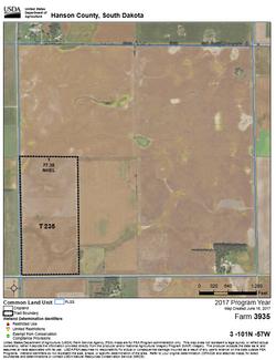 Hanson Co 240 FSA Map 1