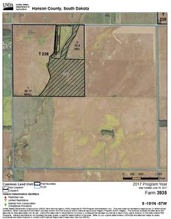 Hanson Co 240 fsa map 2