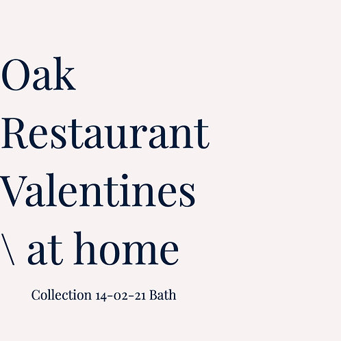 Valentines Feast at Home - Collection Only