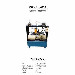 Hydraulic Test Unit