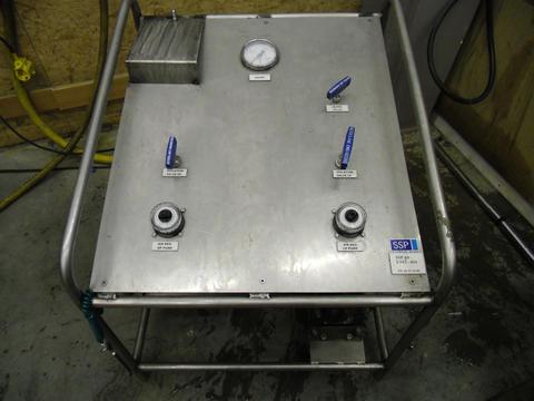SSP-UNIT-010 Testbenk