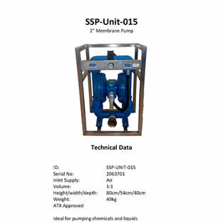 2'' Membrane pump
