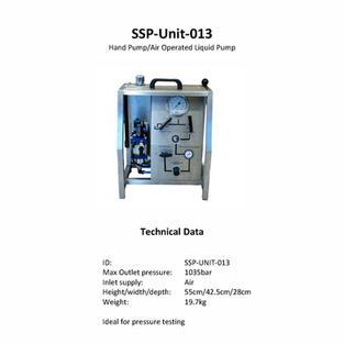 Hand Pump/Air Operated Liquid Pump