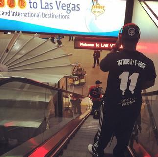 All in Las Vegas wit it!! ✈️ #MayPac #Ne