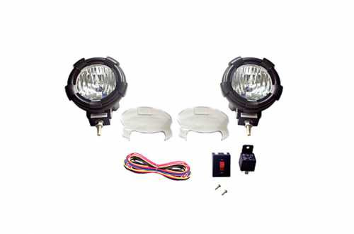 "Optilux 4"" HID Driving Headlights"