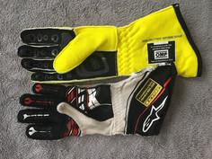 FIA Gloves: Alpinestars vs OMP