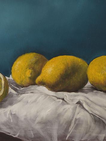 Lemons on Canvas