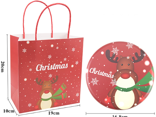 Christmas candy gift tins