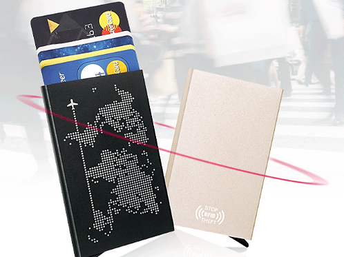 Customisable RFID Credit Card Holder