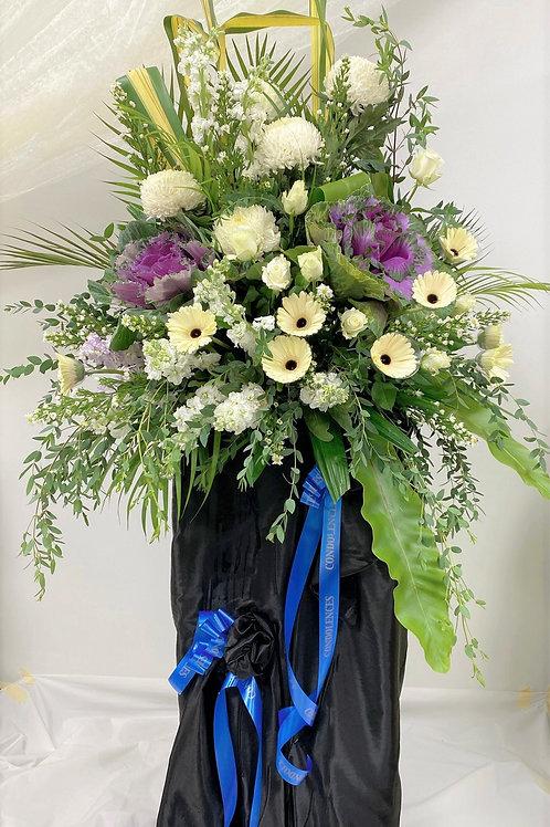 Deepest Sympathy Condolence Wreath