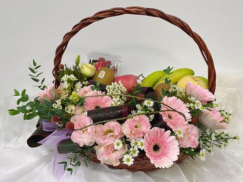 Fruity Delight Fruit Basket