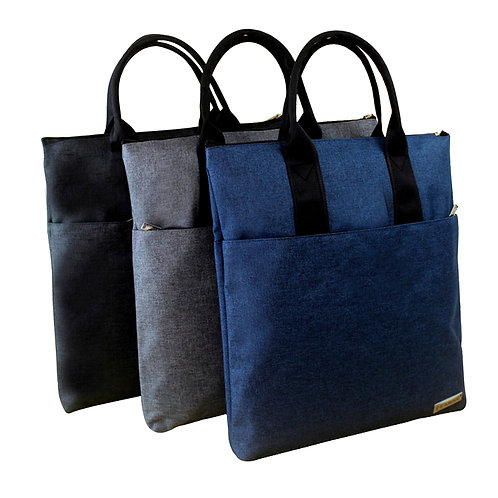 Unisex A4 Oxford Tote Bag