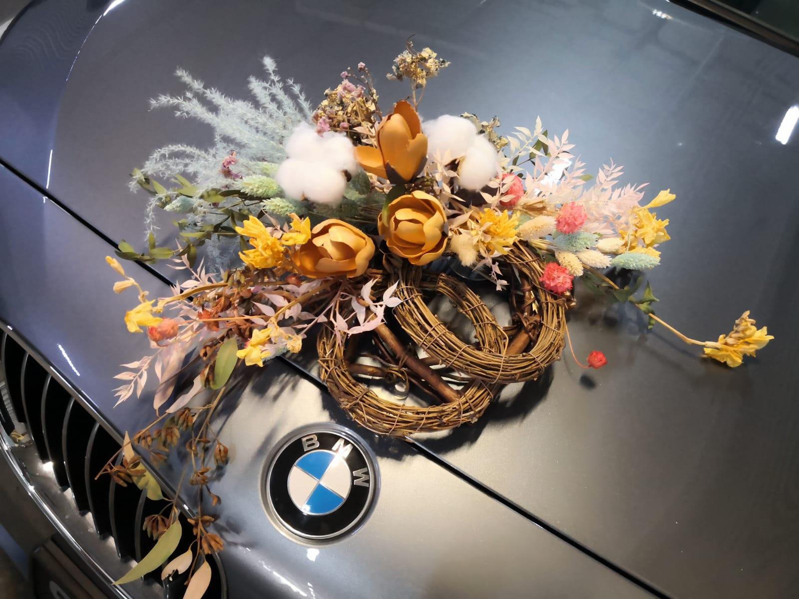 Bridal Car - Front Deco 6