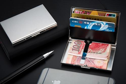 Customisable Aluminium RFID Shield Wallet