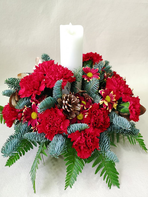 Christmas Table Flower