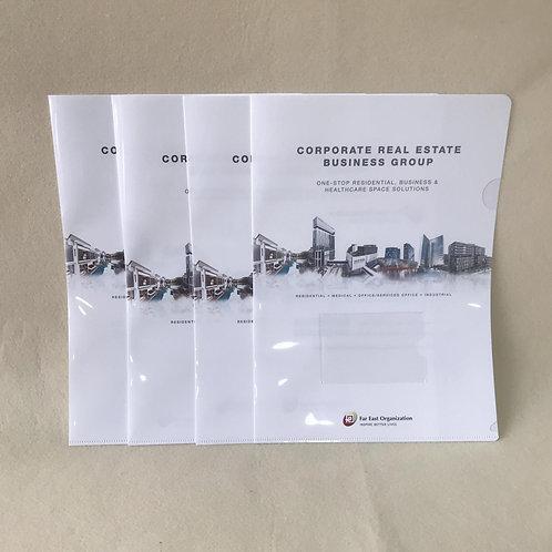 Customised L-Shaped Folder
