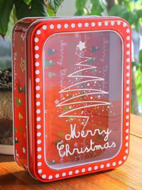 Christmas gift tins