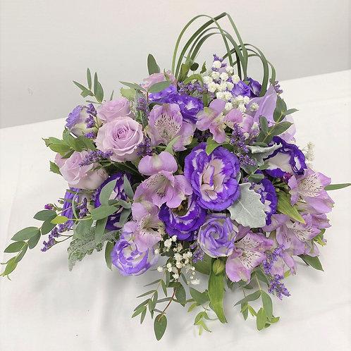 Lavender Devotion Table Arrangement